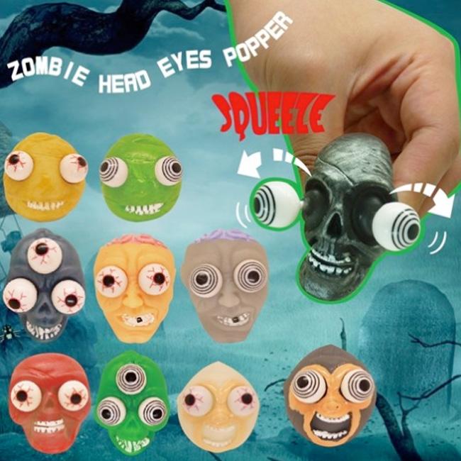 Eye Popping Vinyl Head