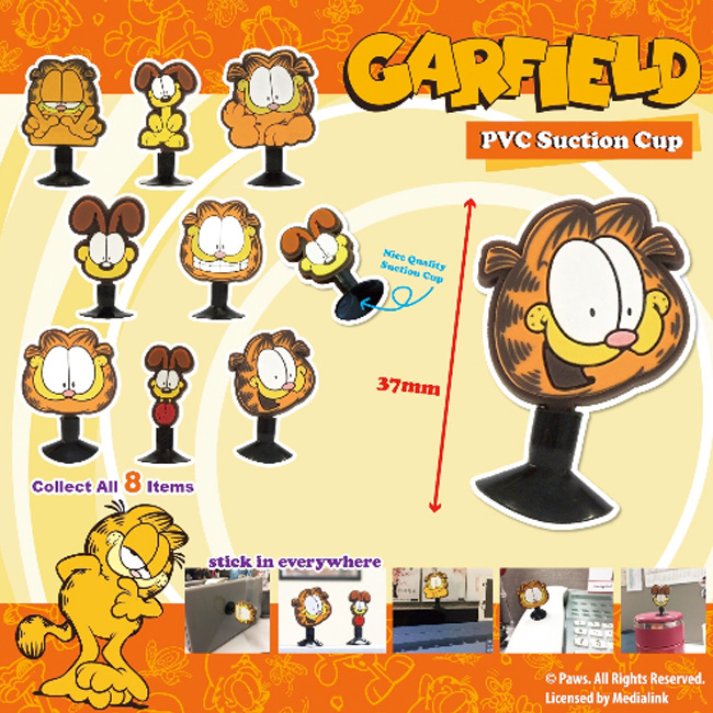 Garfield PVC Suction Cup