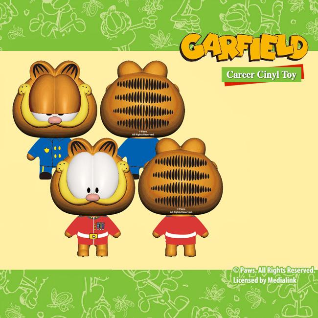 Garfield Career Vinyl Toy