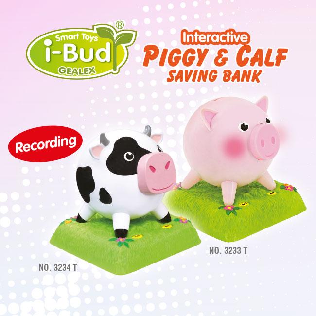 Interactive PIGGY & CALE Saving Bank