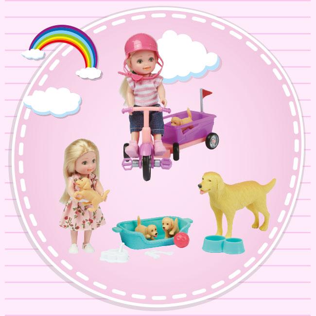 """4"""" (10.2cm) Doll"""