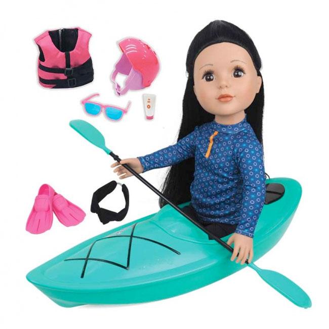 """18"""" Fashion Doll - KAYAK Set"""