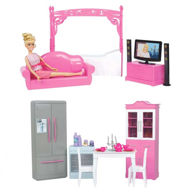 4 IN 1 BEDROOM SET AND ACCESSORIES