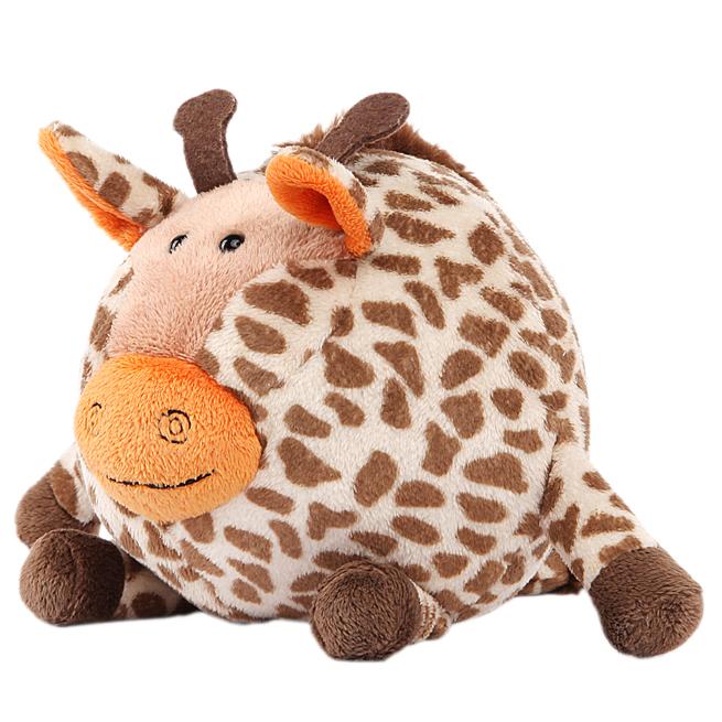 Plush Giraffe in sphere shape