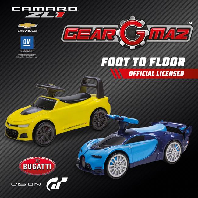 Foot to Floor Camaro Zl1/ Bugatti Vision GT