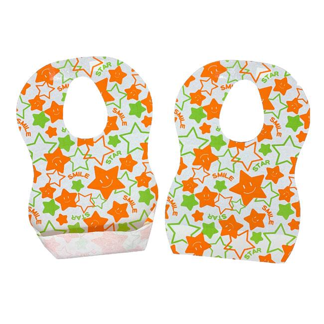 Disposable 3-Ply Baby Bib