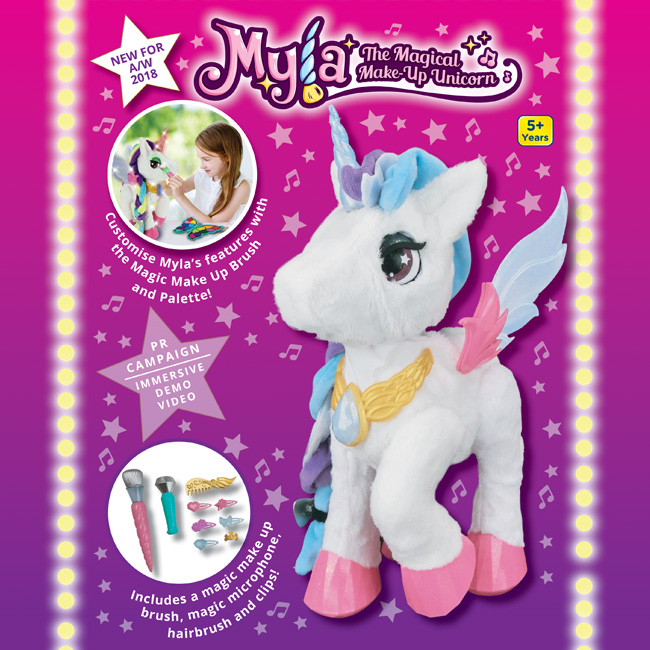 Myla - The Magical Make-Up Unicorn
