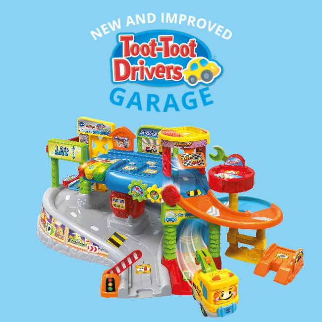 New Toot-Toot Garage Play Set