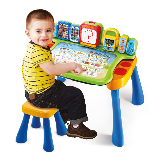4 in 1 Activity Desk - Interactive Activity Desk