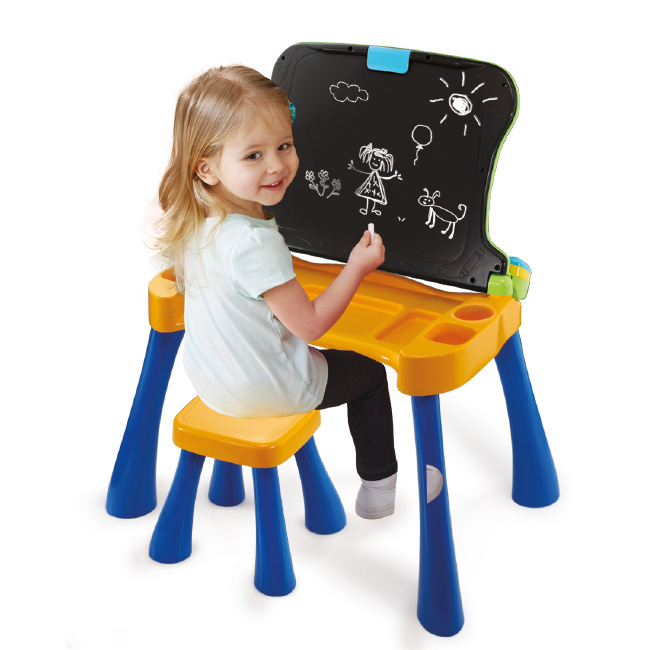 4 in 1 Activity Desk - Blackboard