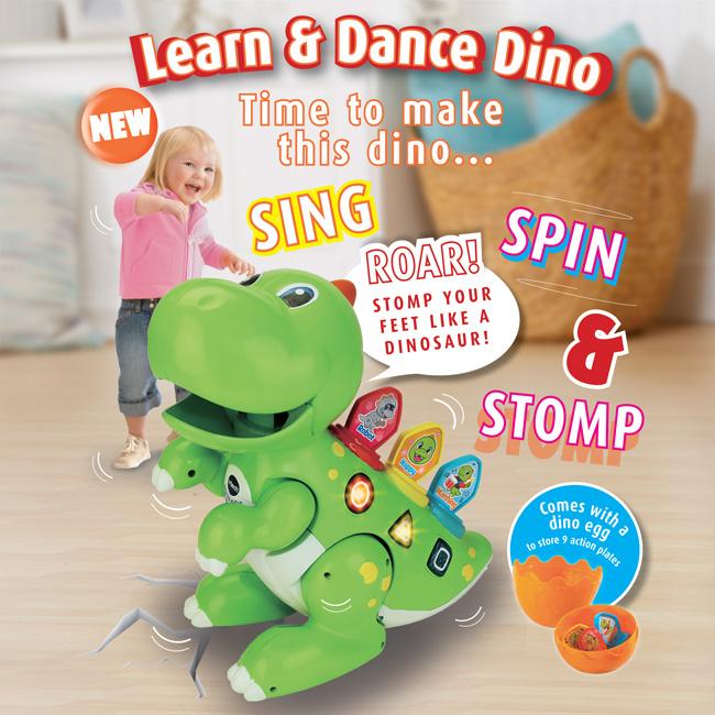 Learn & Dance Dino