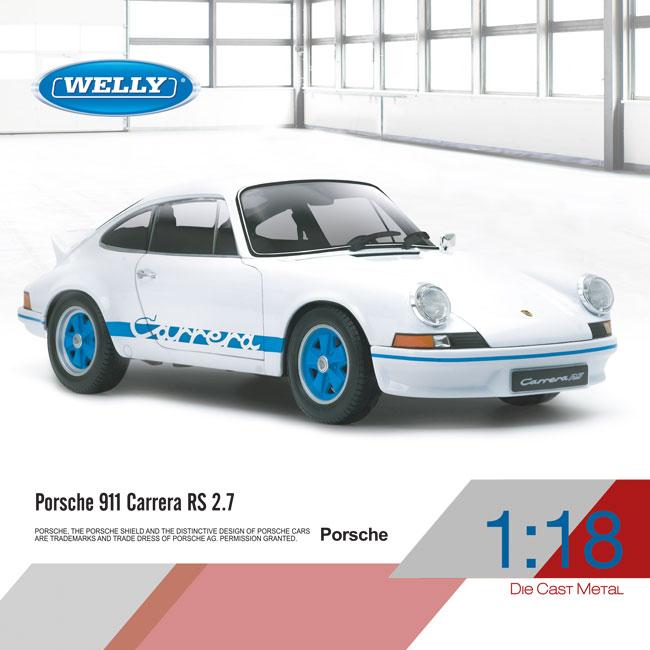 1:18 Porsche 911 Carrera RS 2.7