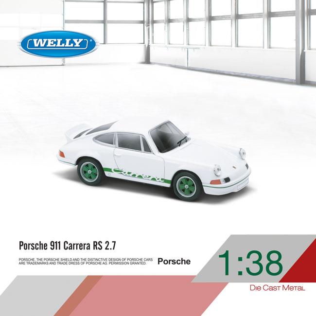 1:38 Porsche 911 Carrera RS 2.7
