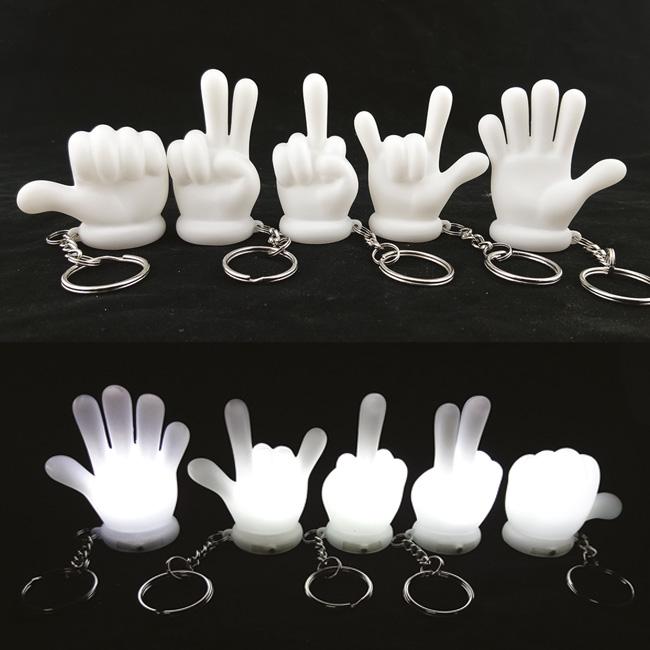 Gesture Shadow Keychain