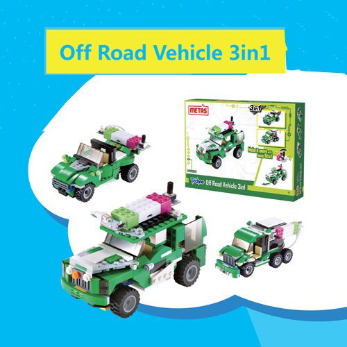 Off Road Vehicle 3 in 1