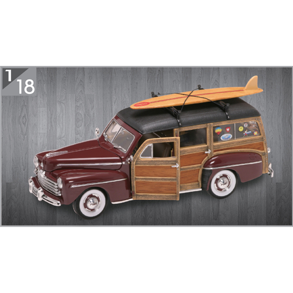 1948 Ford Woody 1:18