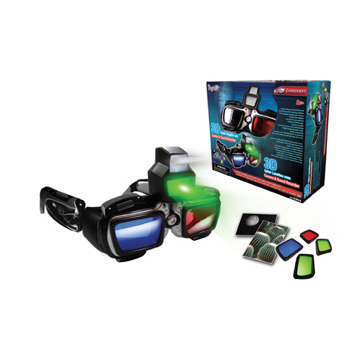 3D Cyber Goggles with Camera & Sound Recorder