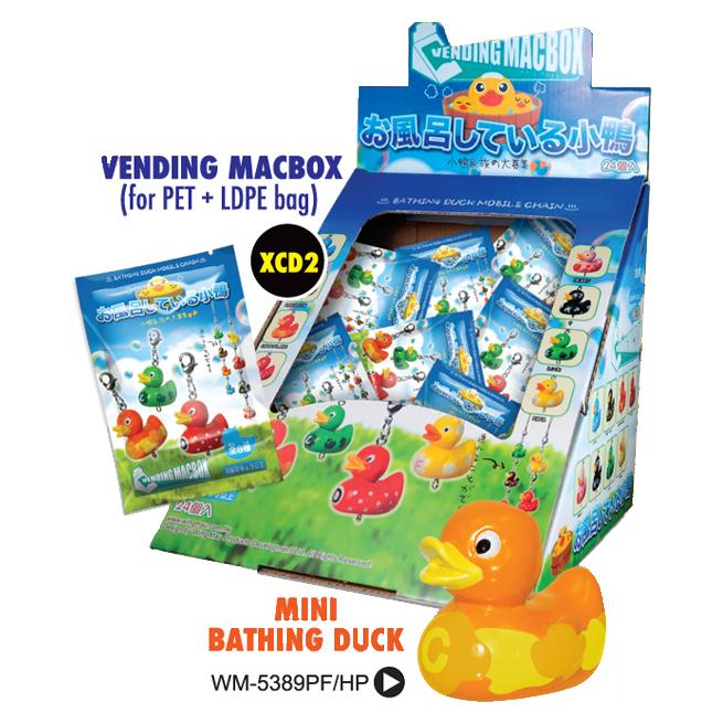 Vending Macbox / mini Bathing Duck