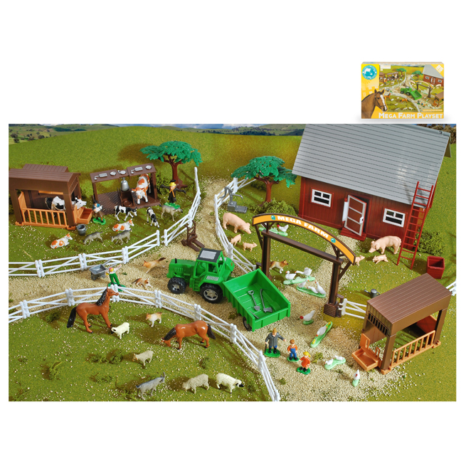 85 PCS MEGA FARM PLAYSET