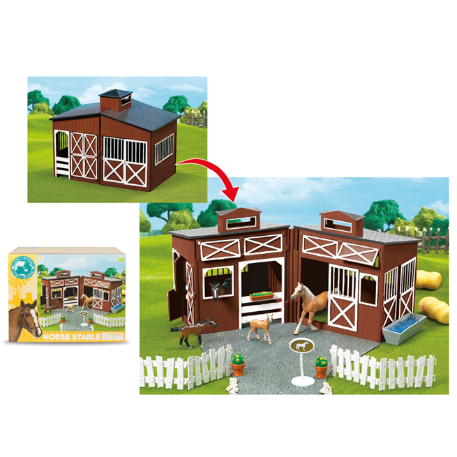 HORSE STABLE PLAYSET