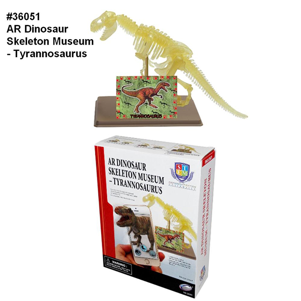 AR Dinosaur Skeleton Museum - Tyrannosaurus
