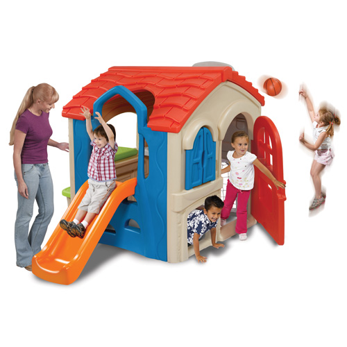 Wriggle 'N Slide Playhouse'