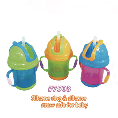 Silicone Ring & Silicone Straw Safe for Baby