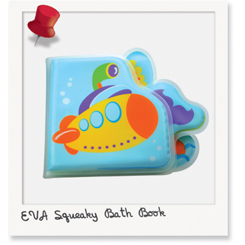 EVA Squeaky Bath Book