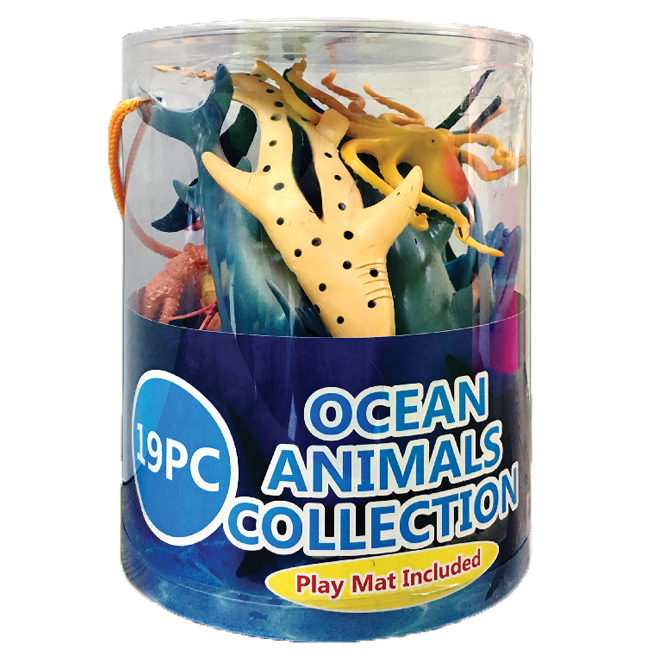 19 PC Ocean Animals Collection