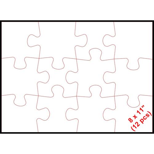 Puzzle 8 x 11 (12p)