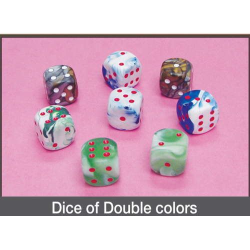 Dice of Double Colors