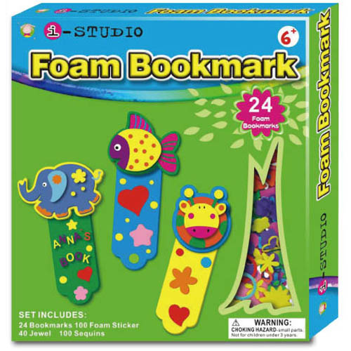 Foam Bookmark