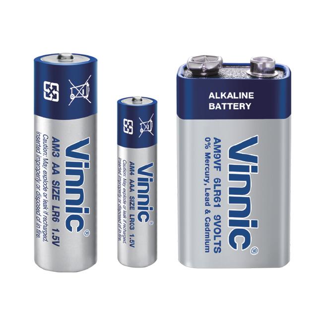 0%mercury Alkaline Battery