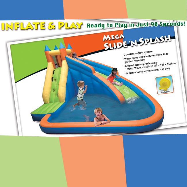 Mega Slide 'N Splash