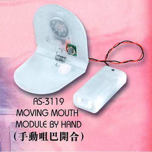 Moving Mouth Module By Hand
