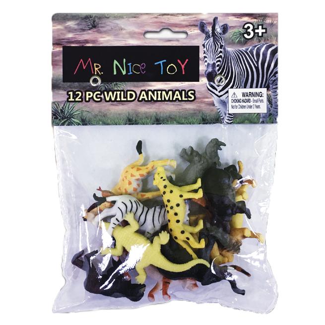 12 PC Wild Animals