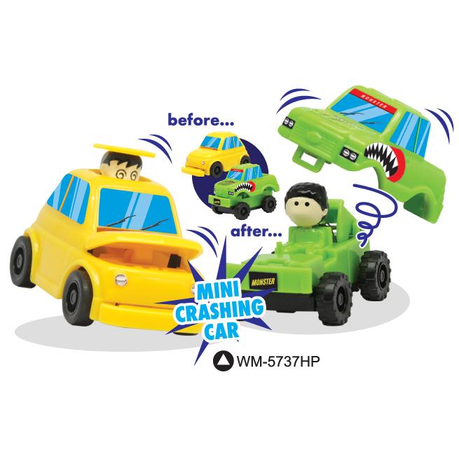 Mini Crashing Car