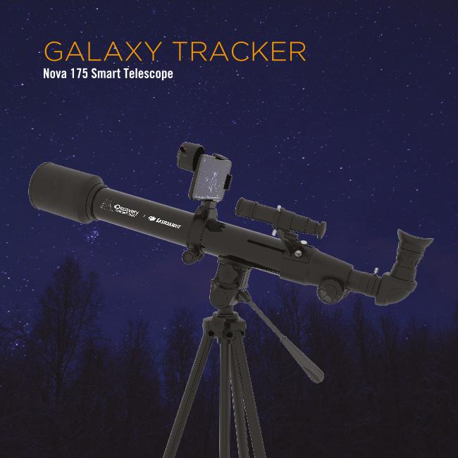 Galaxy Tracker - Nova 175 Smart Telescope
