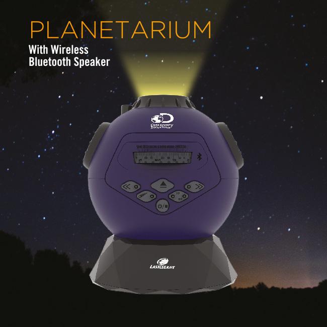 Planetarium - with Wireless Bluetooth Speaker