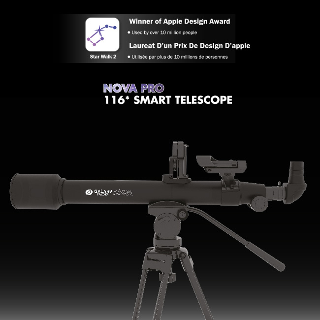 NOVA PRO 116* SMART TELESCOPE