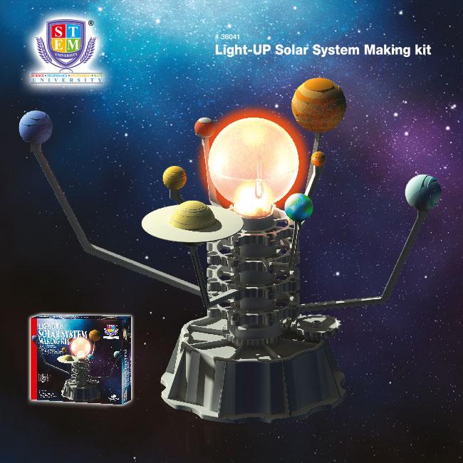 Light-UP Solar System Making Kit