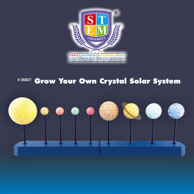 Grow Your Own Crystal Solar System