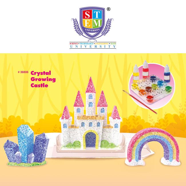 Crystal Growing Castle