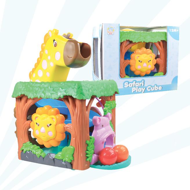 Safari Play Cube