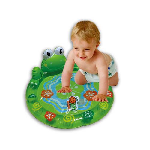 Inflatable Aqua-Frog Playmat