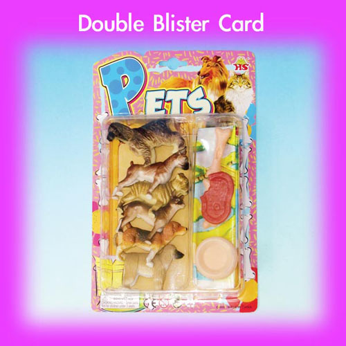 Double Blister Cards