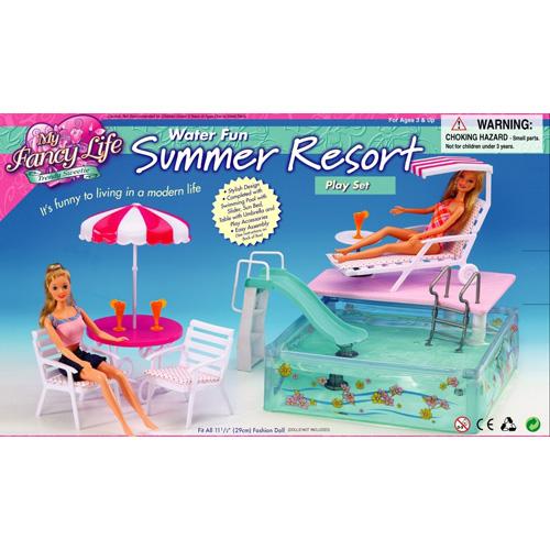 WATER FUN SUMMER RESORT SET