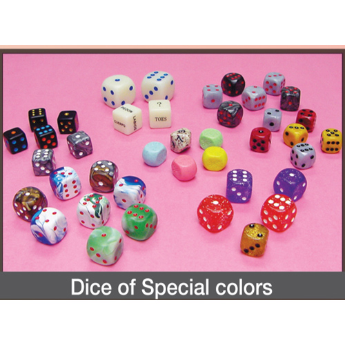 Dice of Special Colors