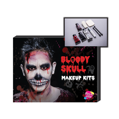 Makeup Kit - Bloody Skull