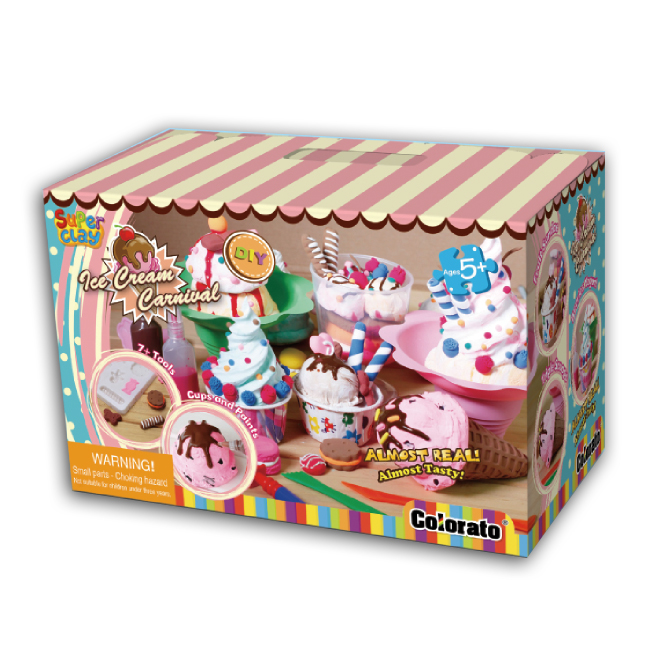 Super Clay Ice-cream Carnival